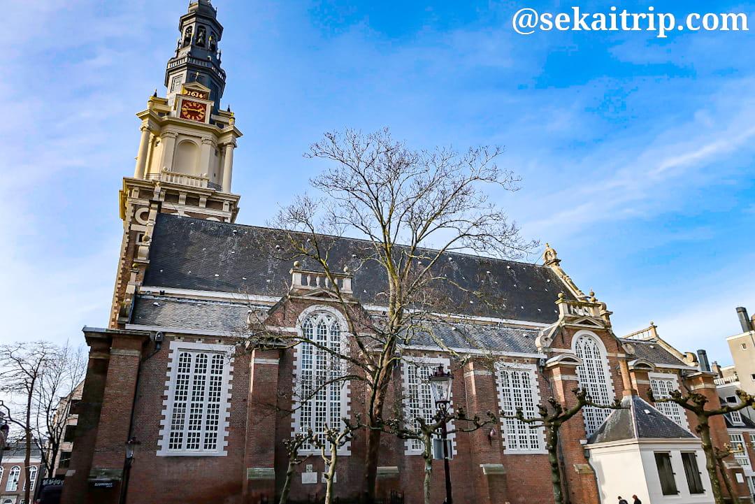 アムステルダムの南教会(Zuiderkerk)