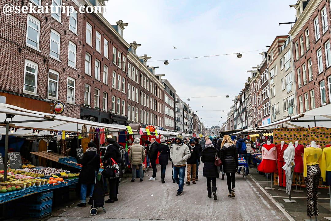 アムステルダムのアルバート・カイプ市場(Albert Cuypmarkt)
