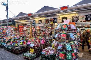アムステルダムの花市場にある店舗
