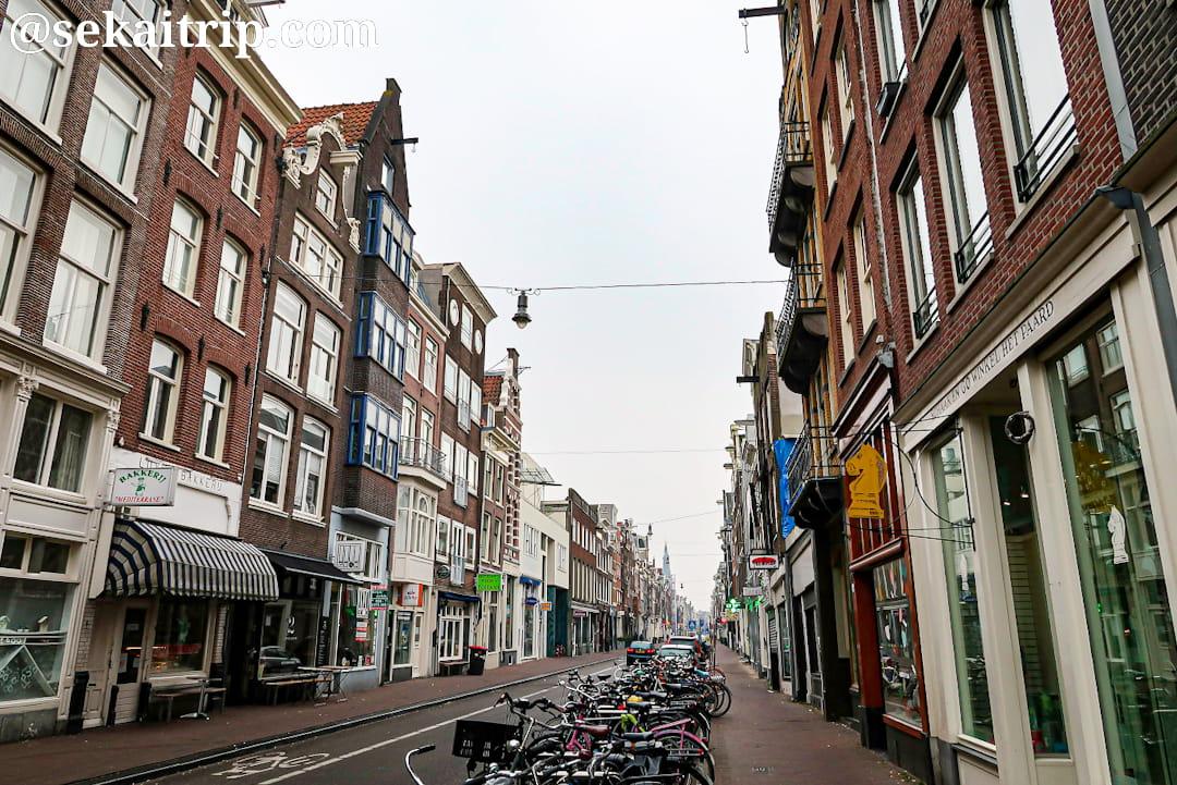 アムステルダムのハールレンメルダイク(Haarlemmerdijk)