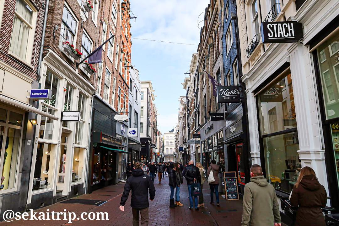 アムステルダムのハイリゲ通り(Heiligeweg)