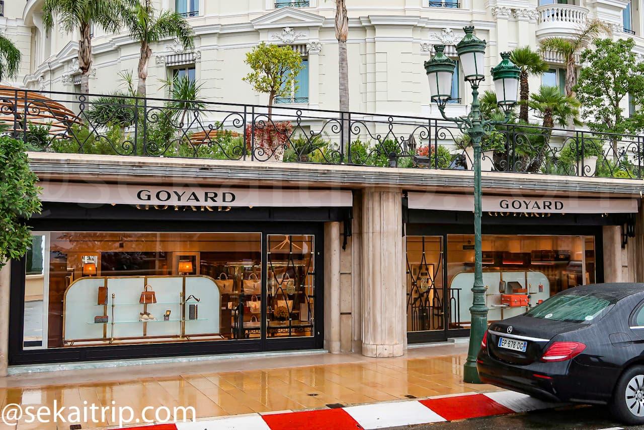 モンテカルロ通り(Avenue de Monte-Carlo)のゴヤール