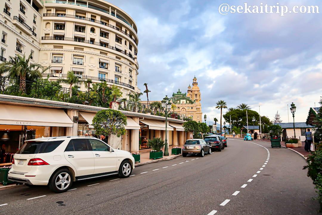 モンテカルロ通り(Avenue de Monte-Carlo)