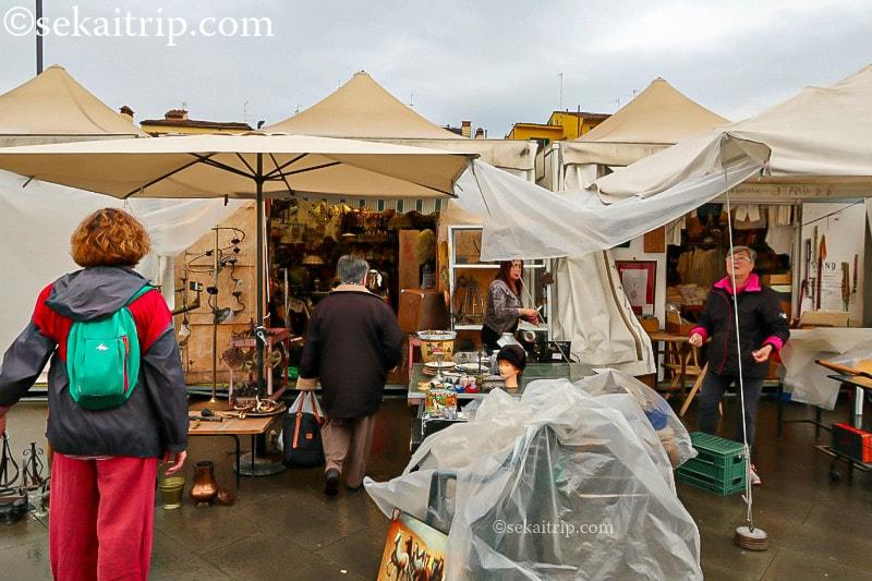 フィレンツェのフリーマーケット(1)