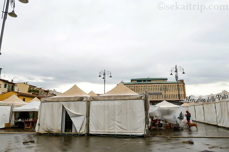 フィレンツェのフリーマーケット