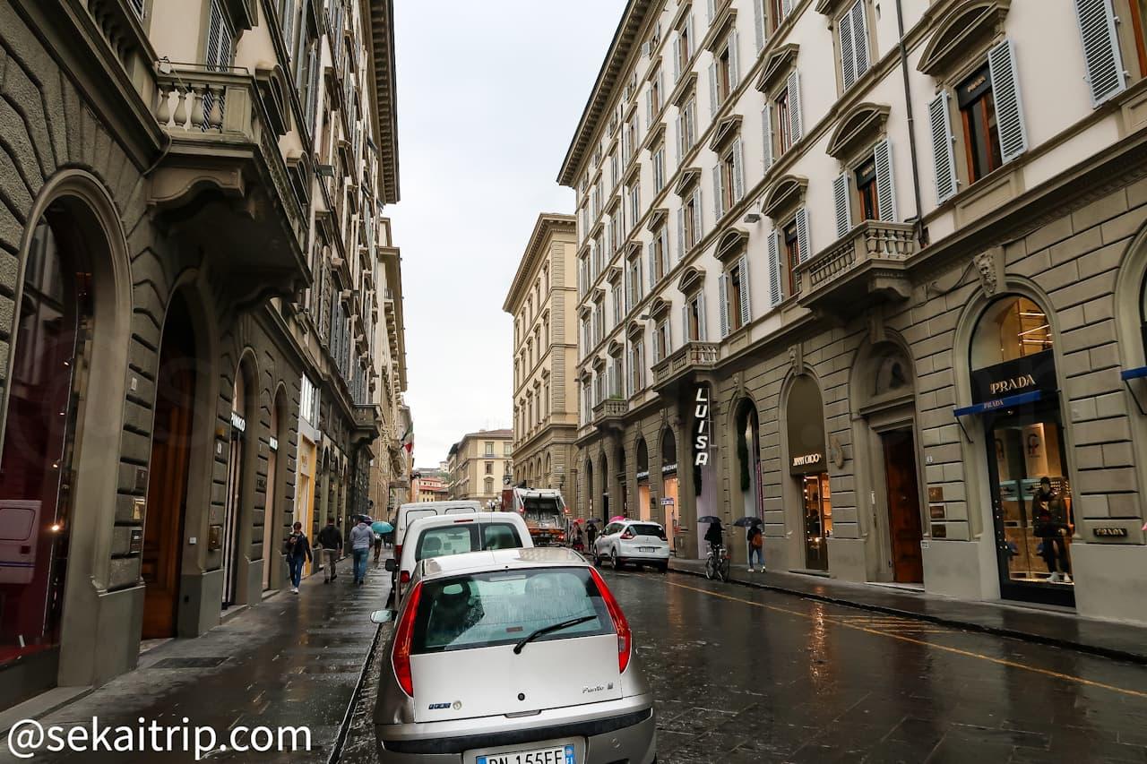 ローマ通り(Via Roma)