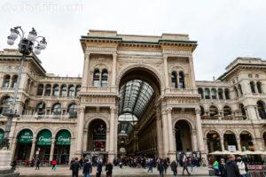 ヴィットーリオ・エマヌエーレ2世のガッレリア(Galleria Vittorio Emanuele II)