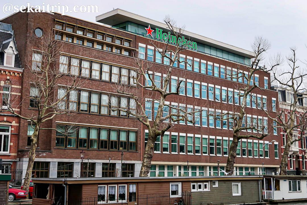 アムステルダムにあるハイネケン本社