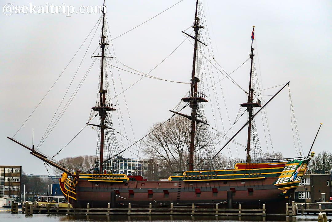 国立オランダ海洋博物館(オランダ東インド会社の帆船)