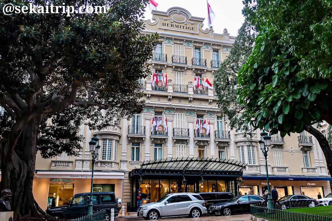 オテル・エルミタージュ・モンテカルロ(Hôtel Hermitage Monte-Carlo)