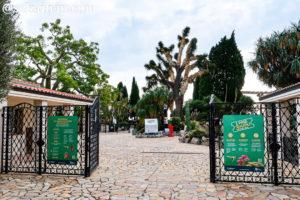 モナコ外来植物園の入口