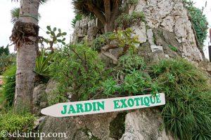 モナコ外来植物園(Jardin Exotique de Monaco)