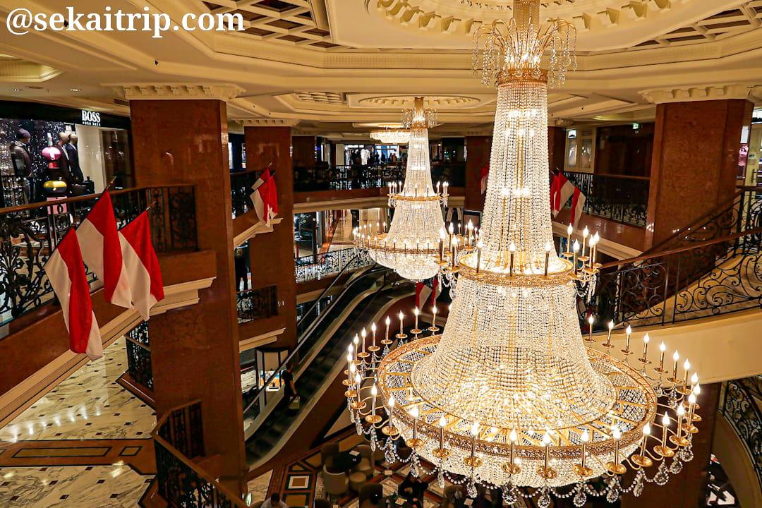 メトロポール・ショッピングセンター(Le Métropole Shopping Center)の内部