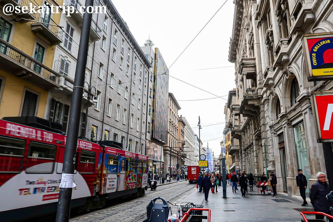 ミラノのトリノ通り(Via Torino)