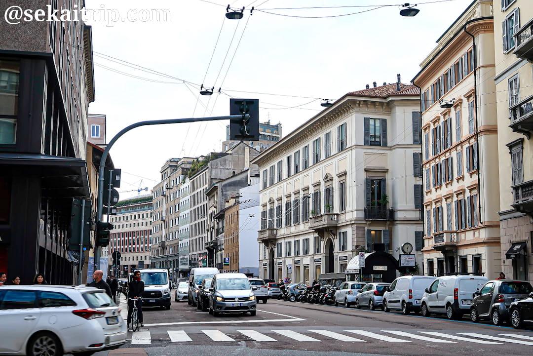 ミラノのヴェネチア通り(Corso Venezia)