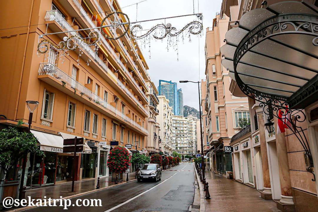 ムーラン通り(Boulevard des Moulins)