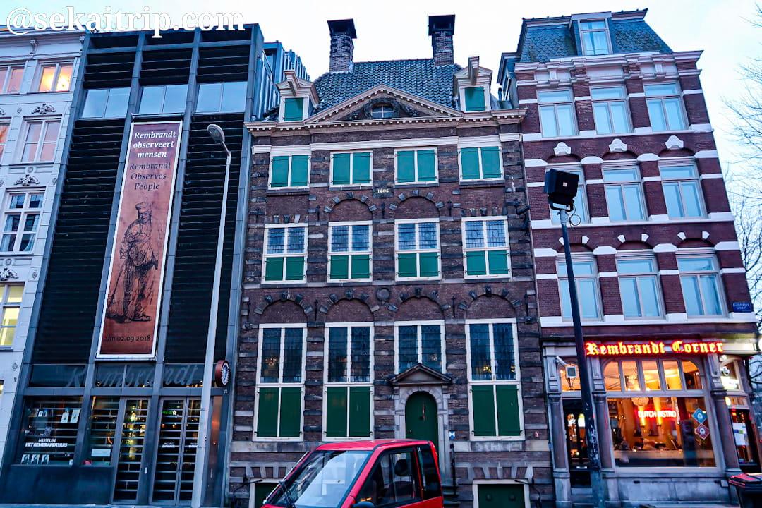 レンブラントの家(Museum Het Rembrandthuis)