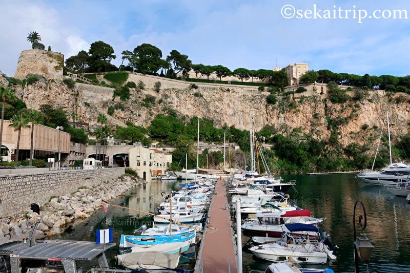 モナコのフォンヴィエイユ港(Port de Fontvieille)