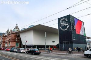 アムステルダム市立美術館の新ウィング