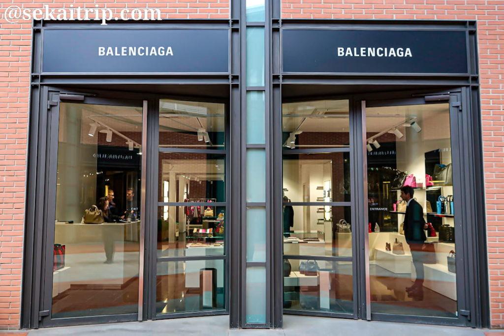 ザ・モールのバレンシアガ