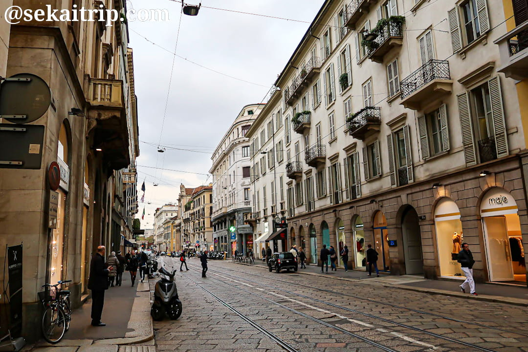 アレッサンドロ・マンゾーニ通り(Via Alessandro Manzoni)