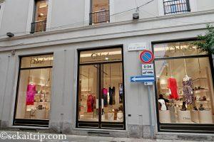 スピガ通り(Via della Spiga)のクロエ