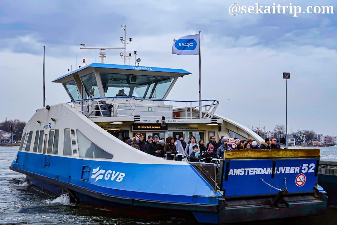 アムステルダムのフェリー