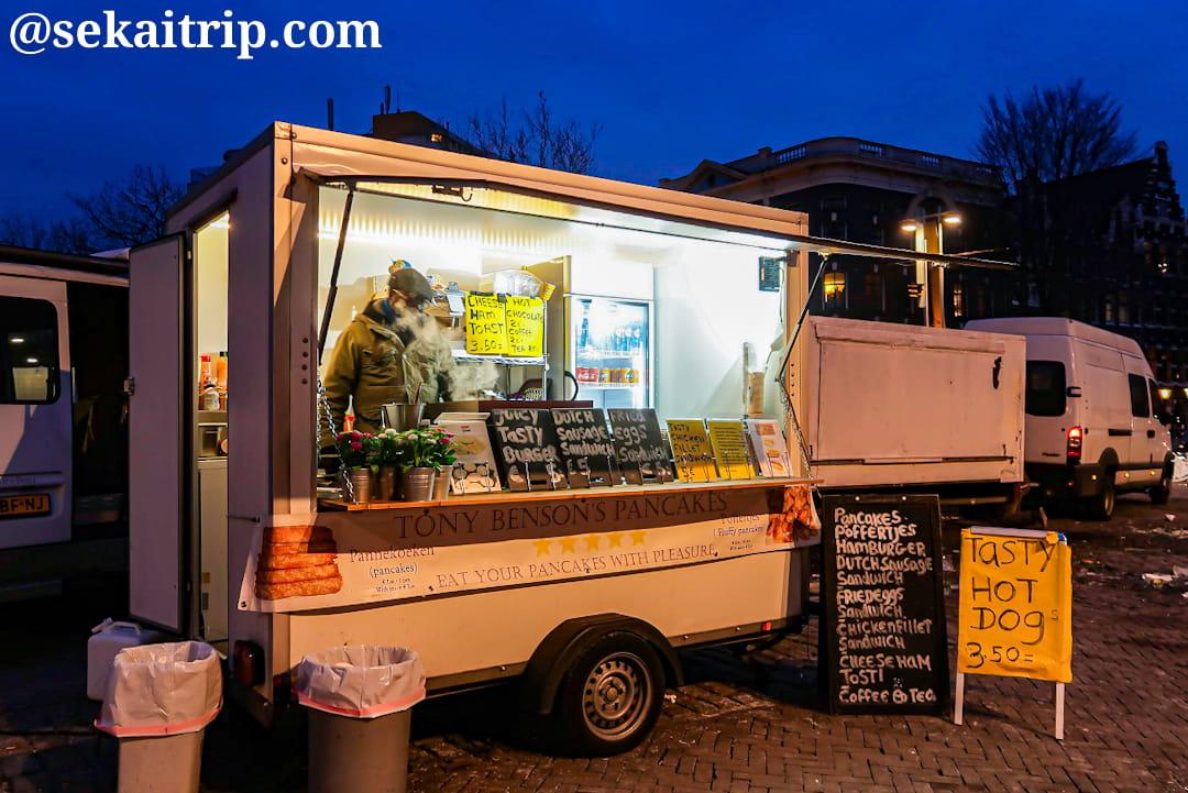 ニューマルクト(Nieuwmarkt)のフードトラック