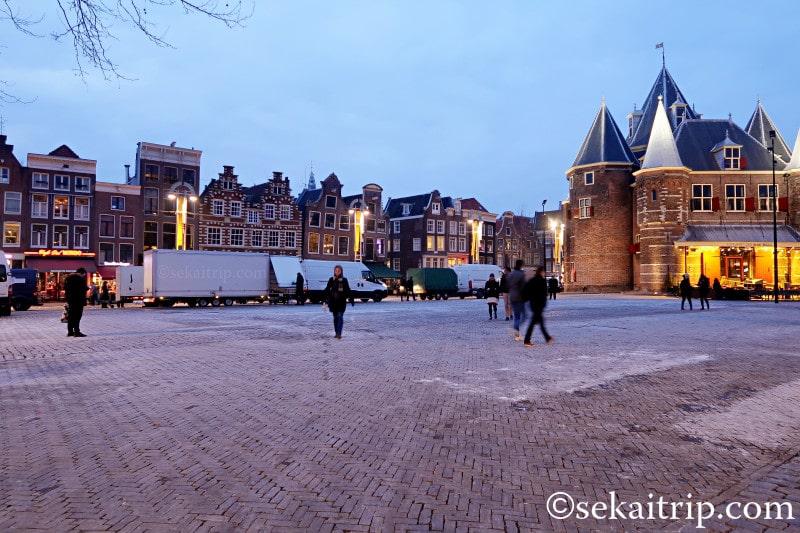 アムステルダムのニューマルクト(Nieuwmarkt)