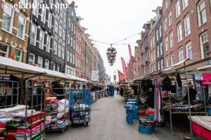 アムステルダムのテン・カーテ市場(Ten Kate Markt)