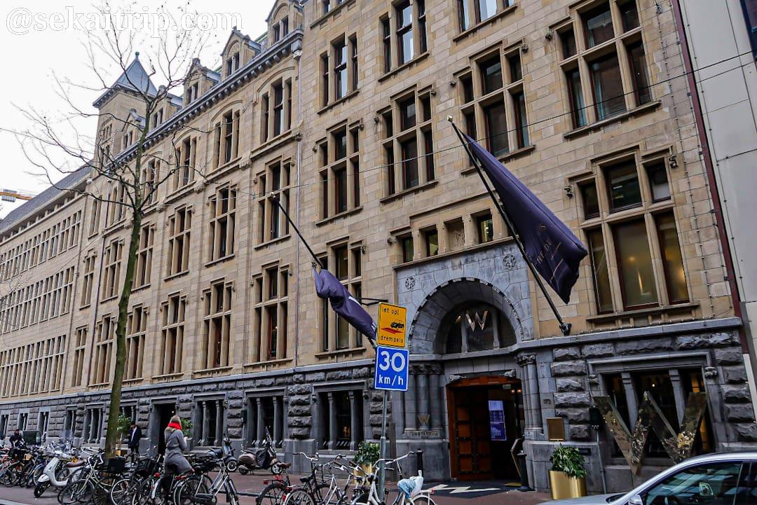 アムステルダムのWホテル
