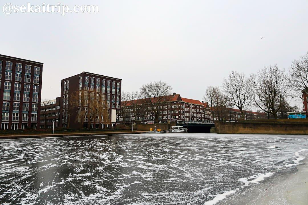 ヨース・バンケルスプラントスーン(Joos Banckersplantsoen)付近