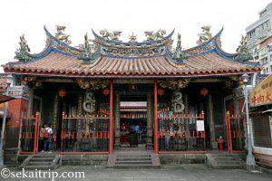 台北三大廟の艋舺清水巌祖師廟(外観)