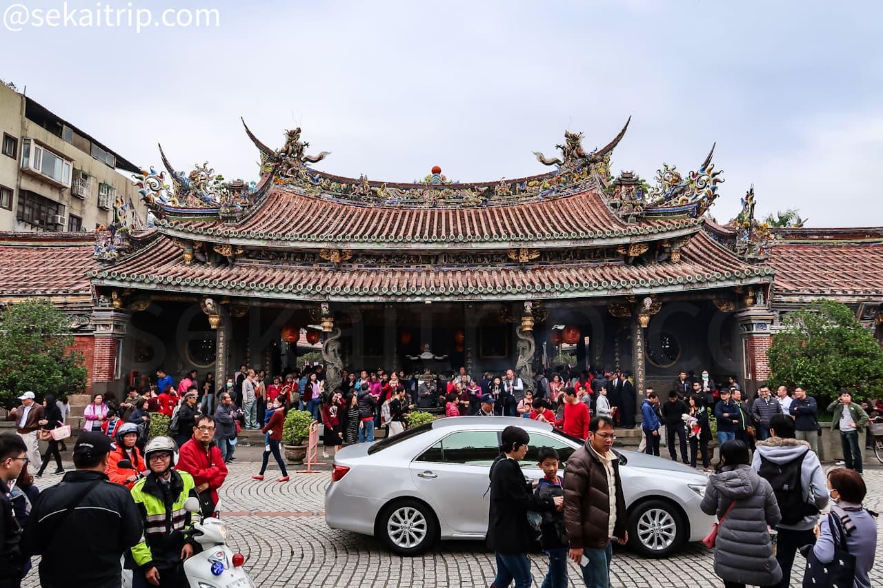 台北三大廟の大龍峒保安宮(外観)
