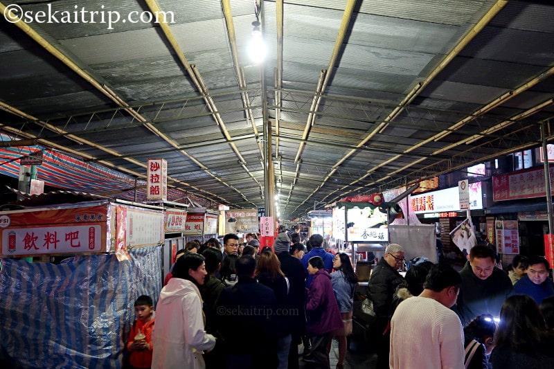 台北の寧夏路夜市