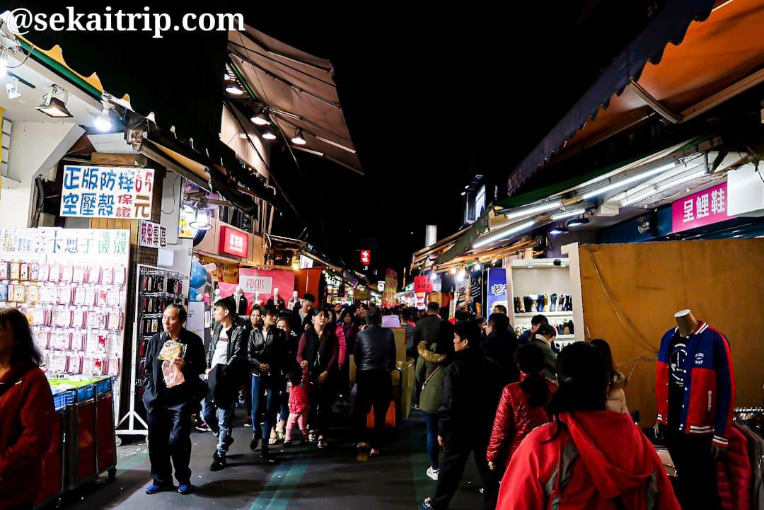 台北の三和夜市