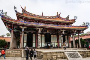 臺北孔子廟の大成殿