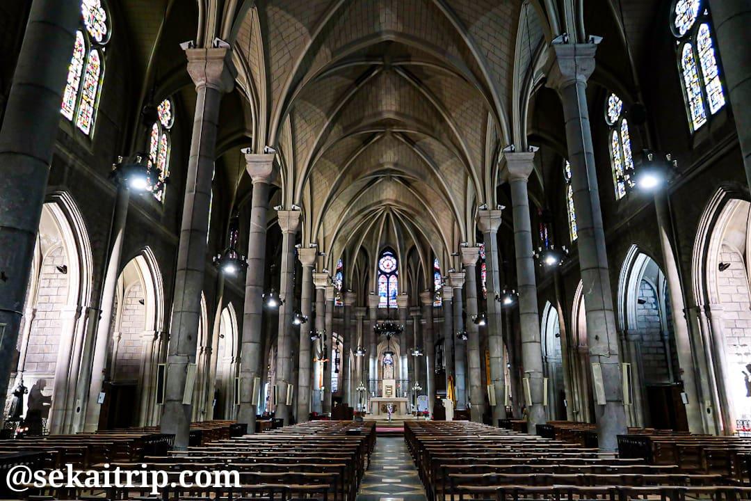 ニース・ノートルダム寺院(Basilique Notre-Dame de Nice)の内部