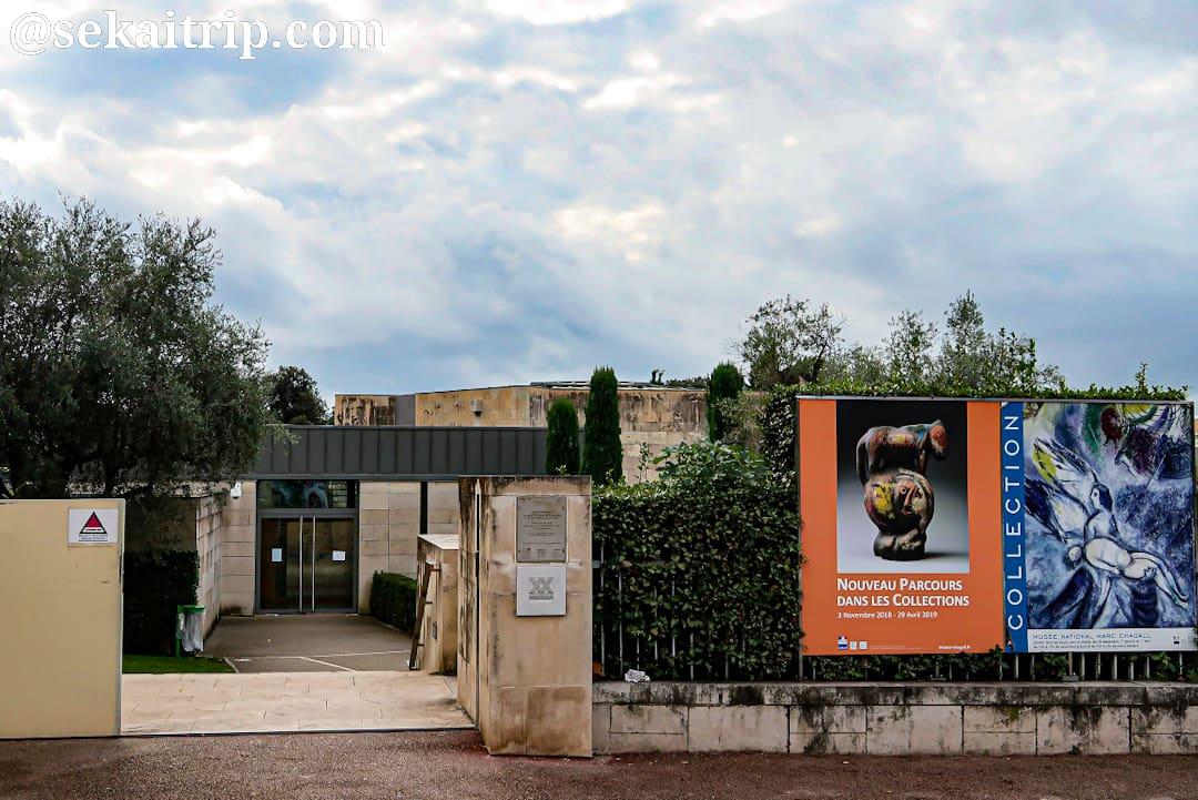 ニースのシャガール美術館(Musée National Marc Chagall)