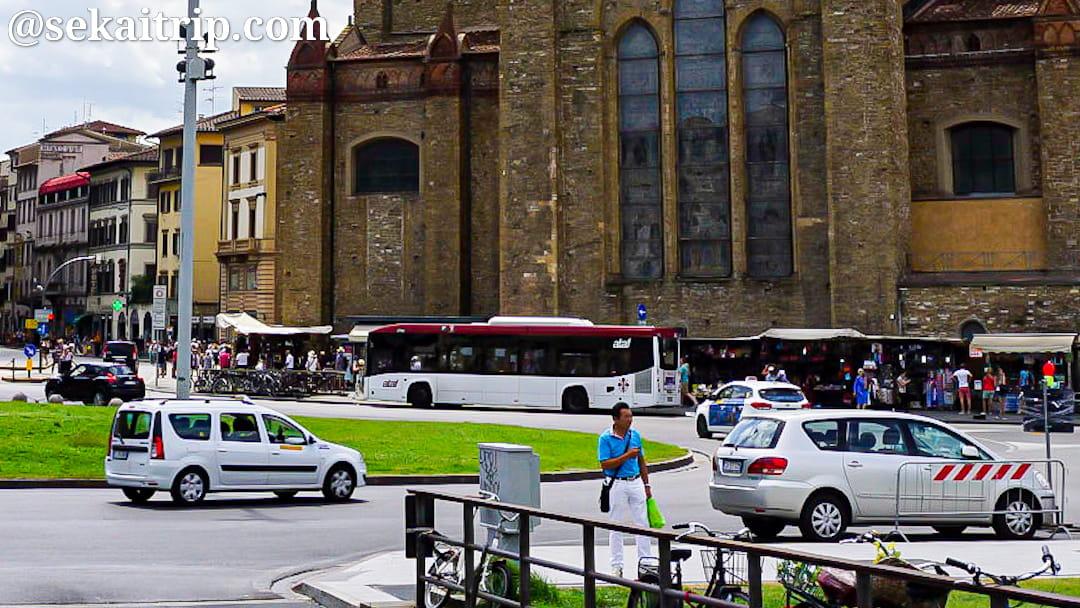 フィレンツェのバス(ataf)