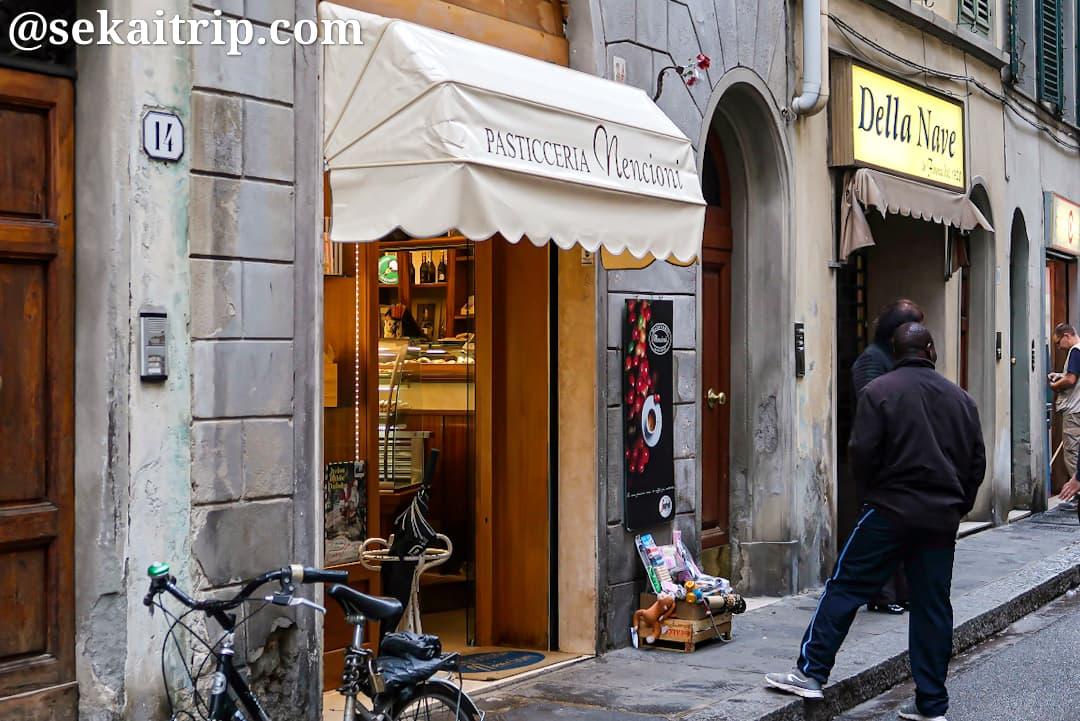 フィレンツェのケーキ屋さん