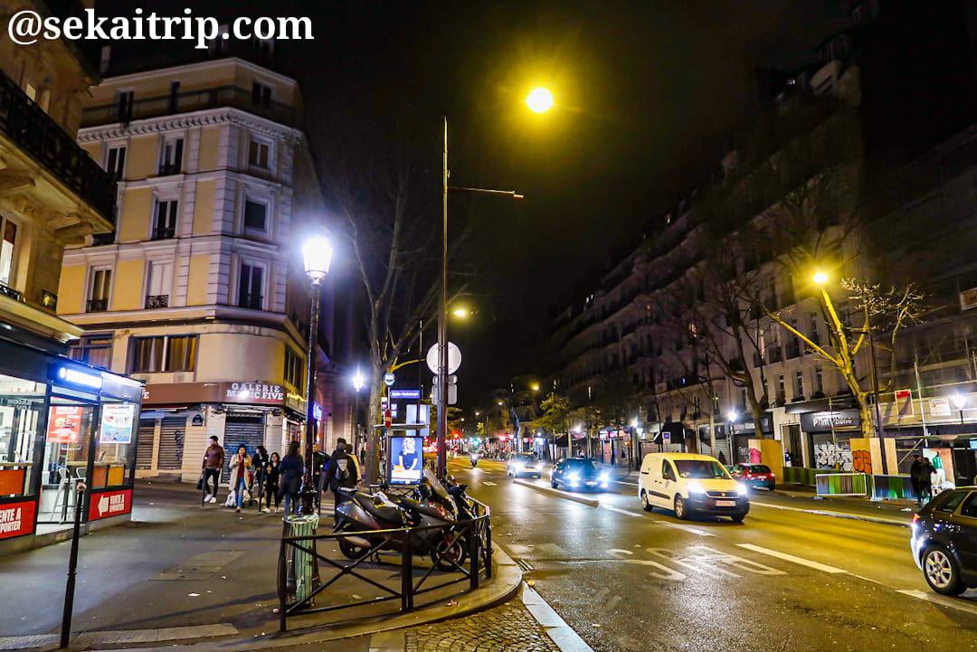 バルベス通り(Boulevard Barbès)