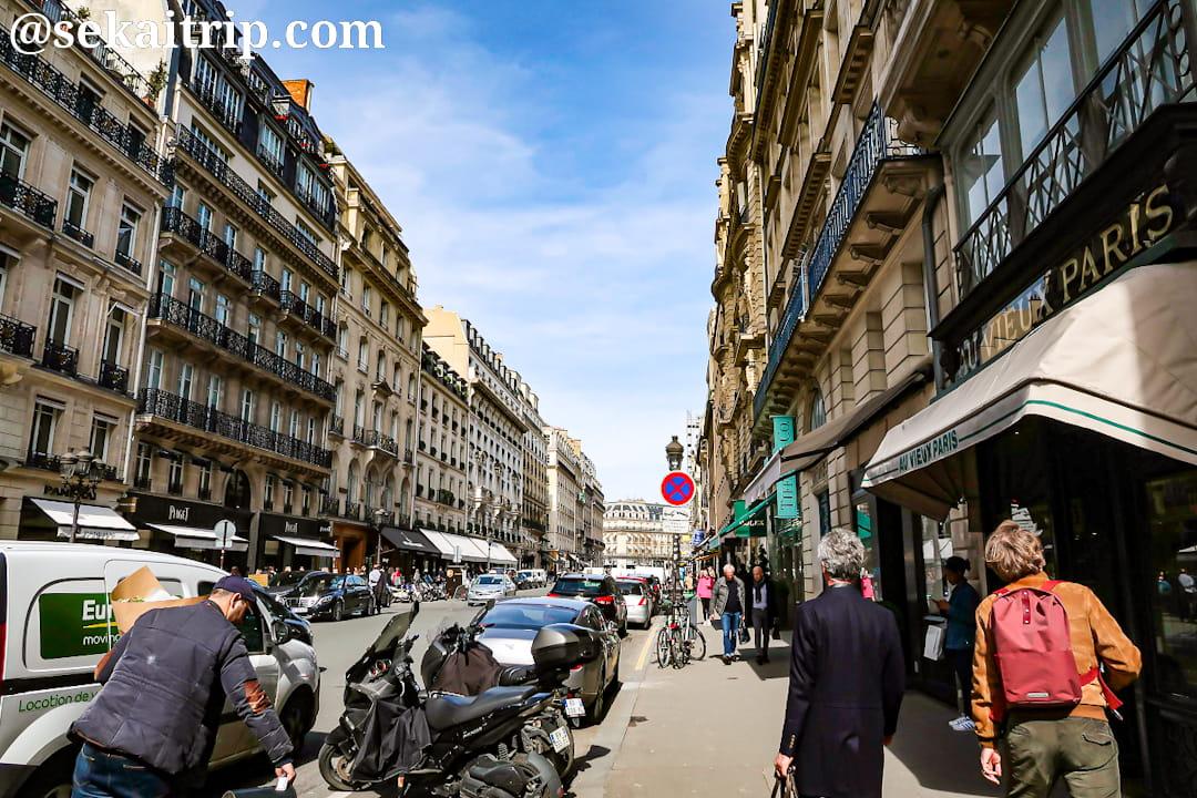 ラ・ペ通り(Rue de la Paix)