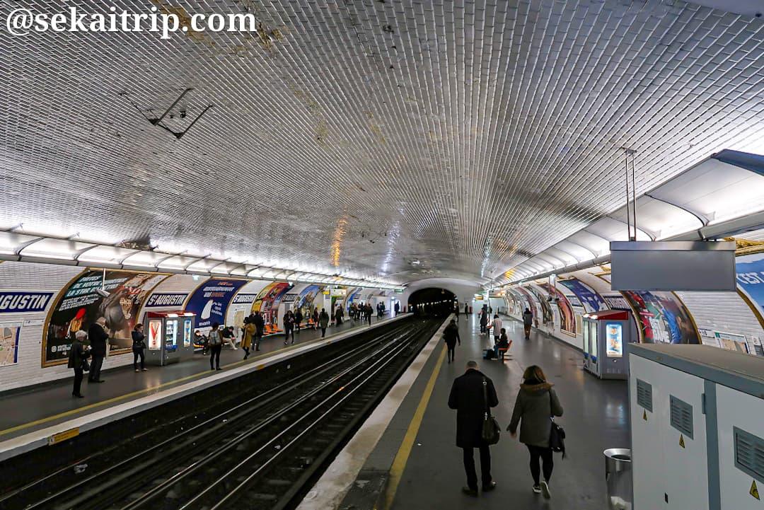 パリのサン=トギュスタン駅
