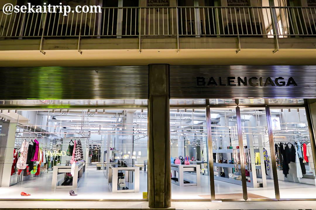 サントノーレ通りのバレンシアガ