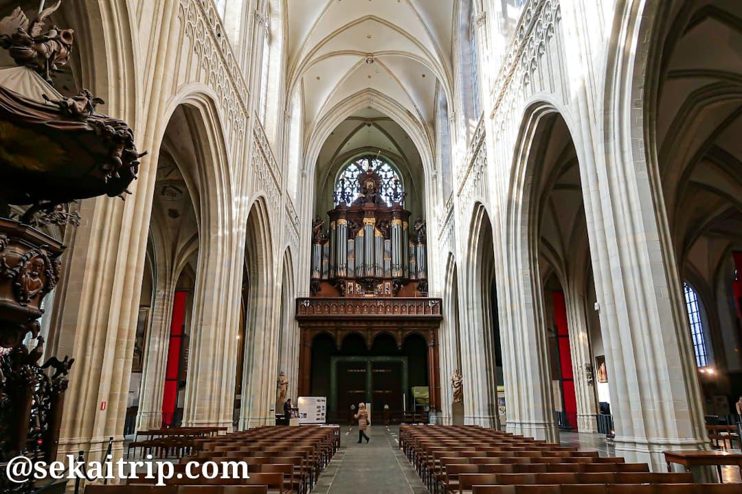 アントワープ聖母大聖堂のパイプオルガン