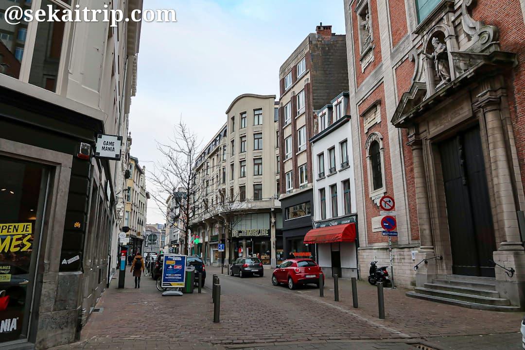 カンメン通り(Kammenstraat)