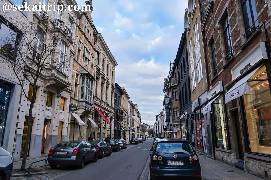 スフッテルスホフ通り(Schuttershofstraat)