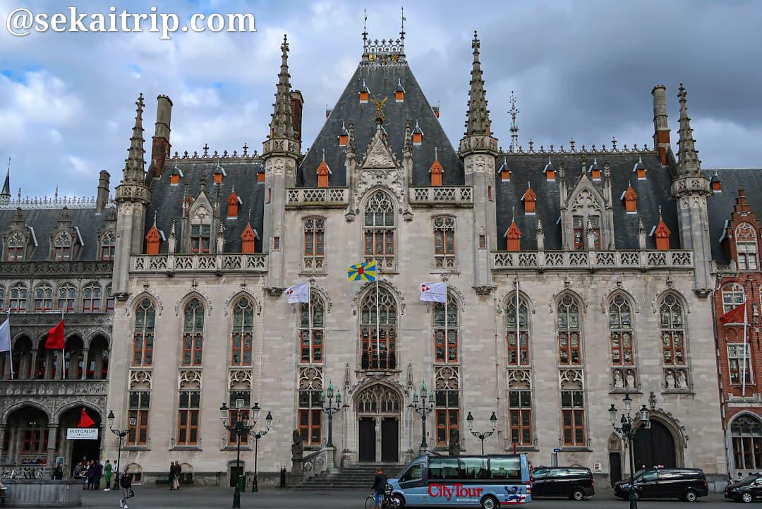 マルクト(Markt)広場の旧地方裁判所