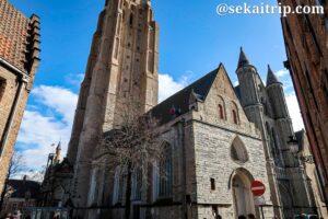 ブルージュの聖母教会(Onze-Lieve-Vrouwekerk)